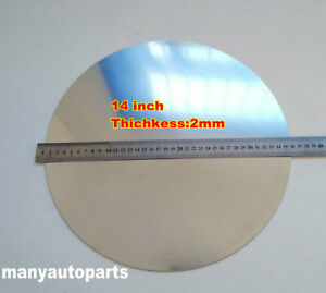 14 Inch Dia 355mm Aluminum Disc Circle Blank Plate Flat Sheet Round 2mm Thick