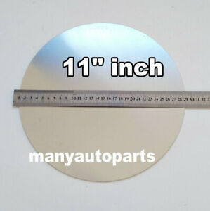 11 Dia 280mm Aluminum Disc Circle Blank Plate Flat Sheet Round 2mm Thickness