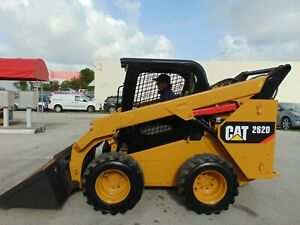 2017 Cat 262d Turbo Self Leveling Heated Air Ride Seat Brand New Tires