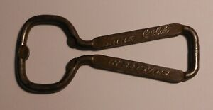 VINTAGE COCA COLA 1940's wire type BOTTLE OPENER