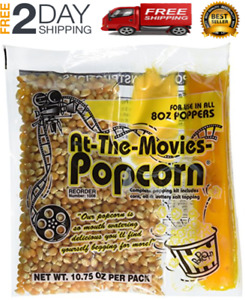 At the movies Popcorn Coconut Oil Portion Packs case Of 24 Kettle