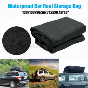 51 Large Car Roof Top Cargo Carrier Bag Waterproof Storage Luggage Box Travel