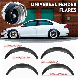 4x 3 5 Universal Anti scratch Front Rear Fender Flares Wide Body Wheel Arches