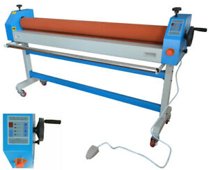 Automatic manual Large Cold Laminating Machine 63in 1600mm 110v New Usa