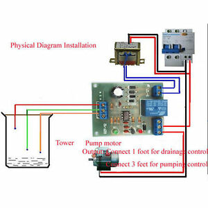Liquid Level Controller Sensor Module Water Level Detection Sensor Componen us