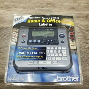 Brother P touch Pt 1280 Home Office Labeler Label Thermal Printer