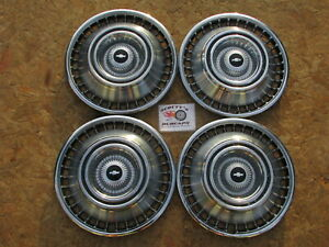 1964 Chevy Impala Corvair Van 14 Wheel Covers Hubcaps Set Of 4