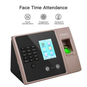 Face Recognition Fingerprint Time Clock Attendance Machine Access System Us G0f4