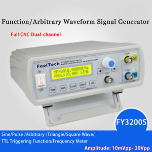Fy3200 20mhz Dual channel Dds Function Waveform Signal Generator Counter Us Z1r2