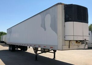 53 Refrigerated Trailer 2001 Works Perfectly