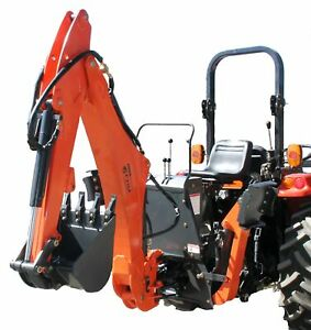 Farmer Helper Tractor Backhoe 8 dig 3 pt Self Contained Pto Cat i 30hp