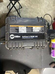 Miller Suitcase X treme 8vs Wire Feeder With Gun And Spool Of Wire