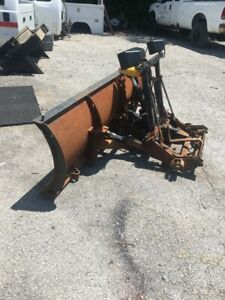 Fisher Minute Mount Snow Plow Newer Lights 1 Newer Western Shock