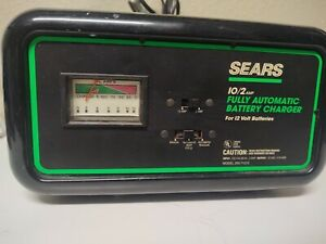 Vintage Sears 10 2 Fully Automatic Battery Charger 12v Model 200 71212