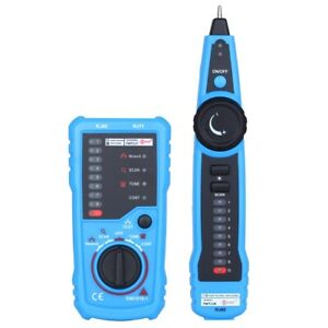 Network Lan Wire Tester Rj45 Rj11 Cable Tracker Telephone Line Finder Detector B