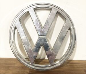 Original Volkswagen Bus Emblem 72 79 Vintage Vw Bus 3 Post