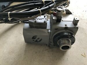 Haas Ha5c Brushless Indexer With High Torque Air Collet Closer