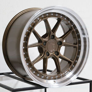 Aodhan Ds08 Ds8 19x8 5 19x9 5 5x120 35 35 Bronze Wheels 4 72 6 19 Inch Stagger