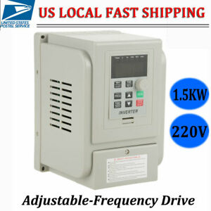 1 5kw 1 To 3 Phase Variable Frequency Drive Converter Vfd Speed Controller 8a