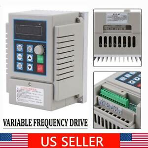 220v 0 75kw Single Phase To 3 three Phase Output Frequency Converter Vfd Vsd Us