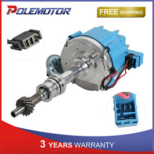 Ignition Distributor For Ford 351c 351m Cleveland 400 429 460 Hei 7500rpm Pe332u