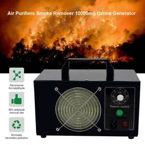 10000mg h Car Room Air Purifier Ozone Generator Odor Remove Disinfection Fresh