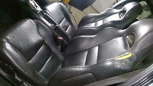 02 06 Acura Rsx Leather Seat Set Front Rear Oem Manual