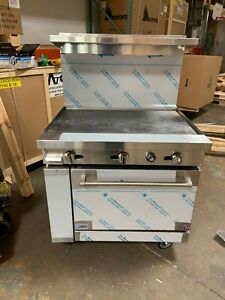 36 Inch 36 Inch Thermostat Griddle Gas Range