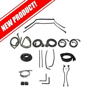 1964 1965 Lincoln Continental 4 Door Sedan Body Weatherstrip Kit