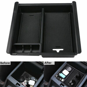Accessories Box Center Console Organizer Holder Abs For Toyota Tacoma 2016 2019