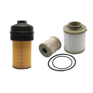 For Ford 2003 2007 6 0l Powerstroke Diesel Oil Fuel Filter And Oil Filter Cap