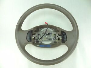 Oem Ford F 150 Expedition F150 Steering Wheel 1997 98 99 00 01 2002 2003 Tan