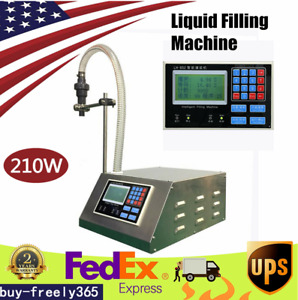 110v Digital Control Liquid Filling Machine For Cream Cosmetic Drink Oil Water