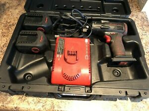 Snap On Ct4410 3 8 Drive 14 4v Nicd Cordless Impact 1 Battery Charger Case