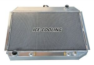 3 Rows Radiator For 1968 73 Dodge Charger Plymouth Mopar Big Block V8 26 w Core