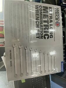 Matco Extra Long Handle Metric Combination Wrench Set