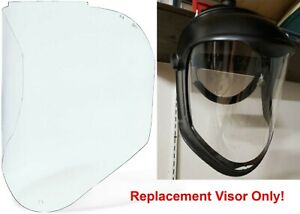 Uvex S8550 Clear Uncoated Replacement Visor For Bionic Face Shield New Free Ship