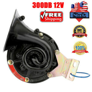 Universal 300db Loud Electric Horn Trumpet For Car Motorcycle Truck Train Usa