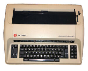 Olympia Electric Typewriter Electronic Compact