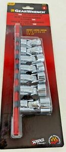 Gearwrench 80564d 7pc 3 8 6pt Flex Socket Set Sae