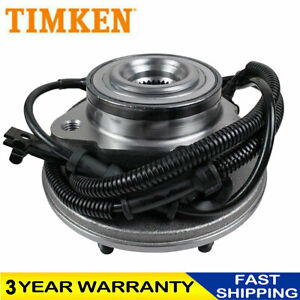 Timken Front Wheel Bearing Hub For 2006 2010 Ford Explorer Mercury W Abs