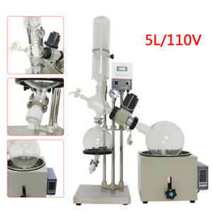 New 110v 5l Rotary Evaporator Rotovap Re 501d 0 99 c Accurate Lab Equipment Usa