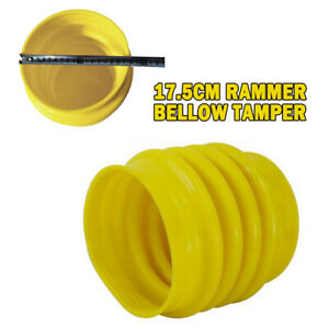 17 5cm Rammer Bellows Boot Yellow For Jumping Jack Compactor Tamper Rammer