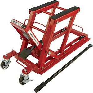 Strongway Hydraulic Motorcycle Jack utility Vehicle Lift