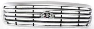 Chrome Grill Assembly For 1998 2011 Ford Crown Victoria Grille Fo1200346