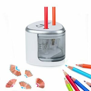 Electric Pencil Sharpener Automatic Touch Switch School Office Classroom Kids