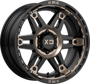 Xd Xd840 Spy Ii 17x8 6x4 5 6x114 3 18 Black Tint Wheels 4 17 Inch Rims