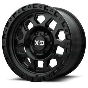 Xd Xd132 Rg2 17x8 6x4 5 6x114 3 25 Satin Black Wheels 4 17 Inch Rims