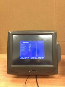 Radiant Systems P1510 Pos Point Of Sale Touchscreen Terminal W credit Card Swipe