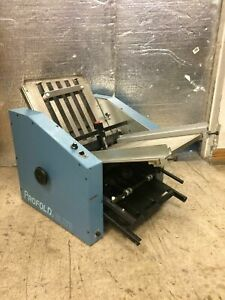Profold Elite F500ff Folding Machine Working Comes As Pictured